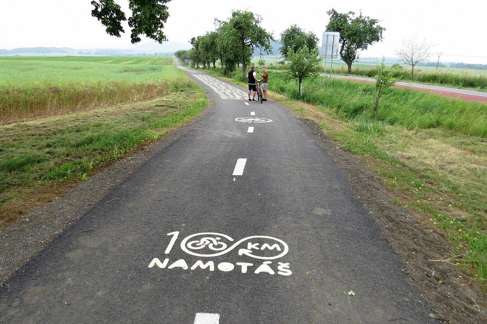 Cycling path around Jeseník